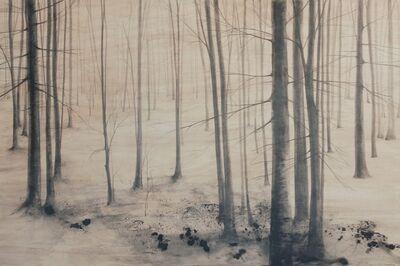 Marika Vicari, 'Alberi. Segni sulla neve', 2018