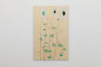 Gaia Fugazza, 'Japanese knotweed, iron and eyes', 2019