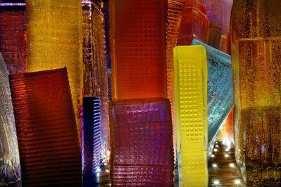 Liz Hickok, 'Downtown Buildings,Jelly NYC', 2012