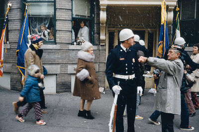 Mitch Epstein, 'St. Patrick's Day Parade, Holyoke,  MA, #1 from the series Recreation', 1973