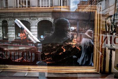 Francis Olschafskie, 'Volcano Watching - London UK', 2017