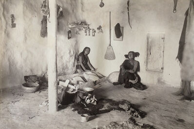 Adam Clark Vroman, 'Hopi Towns, Grinding Corn, Tewa', ca. 1895