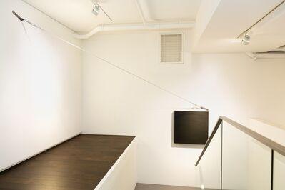 Noriyuki Haraguchi, 'Black Square and Iron Rope', 2019