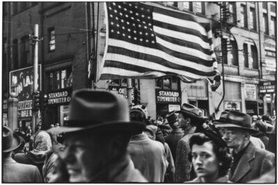 Elliott Erwitt, 'Crowd at Armistice Day Parade. Pennsylvania, Pittsburgh. USA. ', 1950