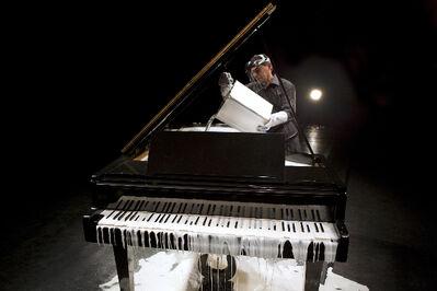 Tatiana Blass, 'Half of the speech on the ground - deaf piano', 2010