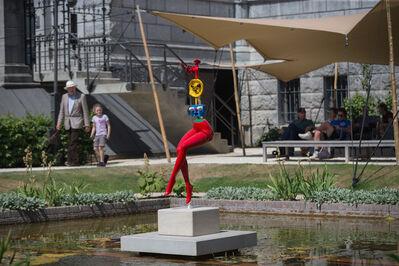 Joan Miró, 'Jeune Fille S'évadant'