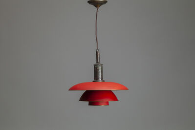 Poul Henningsen, 'Ceiling Light with model no. PH 4/4 shades', ca. 1927
