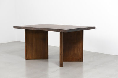Pierre Jeanneret, 'Library table', ca. 1955-56
