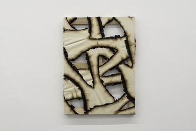 Ariel Schlesinger, 'Untitled (Burnt Canvas) #5', 2018
