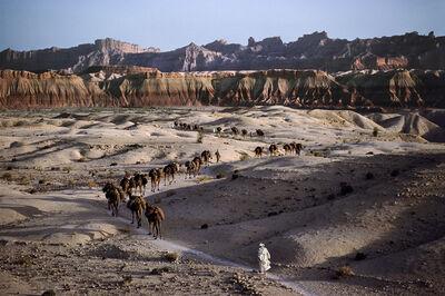 Steve McCurry, 'CAMEL CARAVAN, 1980', 1980