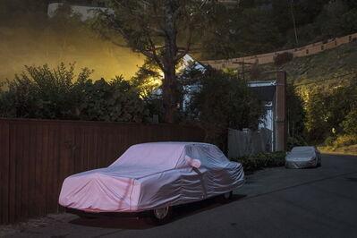 Gerd Ludwig, 'Sleeping Car, Sunset Plaza Drive #4', 2012