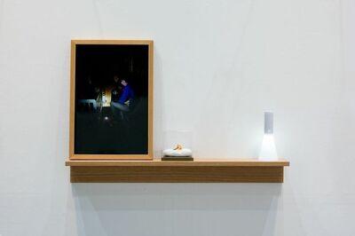 Kwan Sheung Chi 關尚智, 'Man's Future Fund - Gold Nipple,', 2014