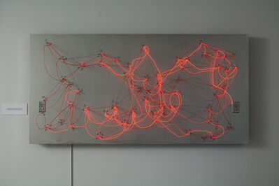 Rafael Lozano-Hemmer, 'Less Than Three - EL Wire Small Version', 2008