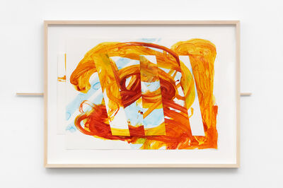 Mark di Suvero, 'Untitled (sliding drawing)', 2003-2004