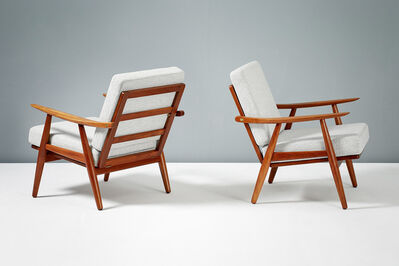 Hans Jørgensen Wegner, 'GE-270 Teak Lounge Chairs', 1956