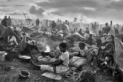 Sebastião Salgado, 'Rwandan refugee camp of Benako, Tanzania', 1994