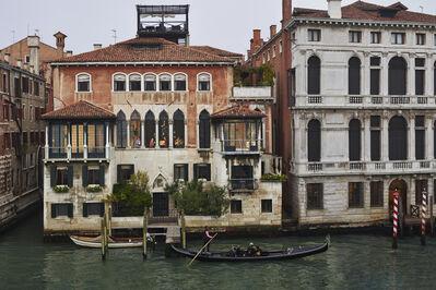 Gail Albert Halaban, 'Moving, San Marco, Venice, October', 2017