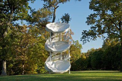 Alice Aycock, 'Three-Fold Manifestation II', 1987; refabricated 2006