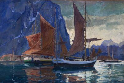Jonas Lie, 'In Northern Seas', c. 1920