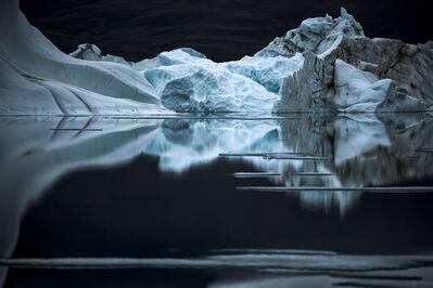 Sebastian Copeland, 'QUIET NIGHT AT OTTO FJORD – Arctic ', 2008