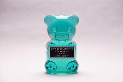 "Whisbe, '12"" Vandal Gummy Translucent Turquoise Unique color', 2019"