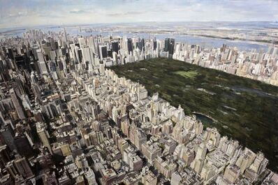 """Valerio D'Ospina, '""""Central Park From Above""""', 2017"""