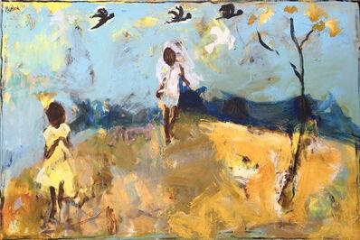 John Maitland, 'Cockatoo Shriek and Little Yellow Tree'