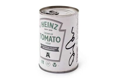 Daniel Arsham, 'Heinz Soup Tin - Signed Edition', 2019