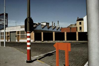 "Harry Gruyaert, '""Midi"" train station district. Brussels, Belgium.', 1981"