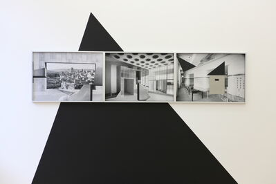 Hazem Harb, 'Bauhaus as imperialism 1# 2# 3# ', 2019
