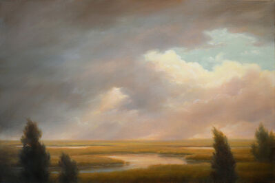 Jane Bloodgood-Abrams, 'Passing Clouds Over the Marshes', 2018
