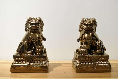 Huang Yulong 黄玉龙, 'The Lions of Forbidden City 故宫狮', 2018