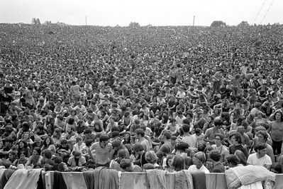 Baron Wolman, 'Woodstock 1969 300000 Strong', 1969