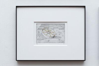 Alexander Massouras, 'lying not far from a golden wheel, ( Mine 5)', 2016-19