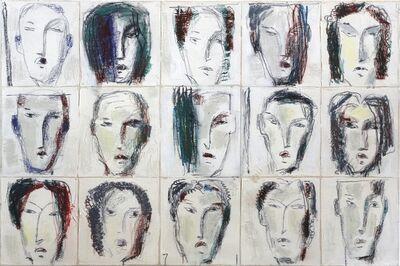 Bernhard Zimmer, 'Faces 25', 2013