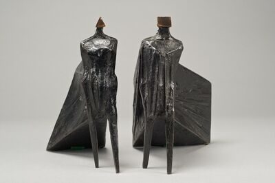 Lynn Chadwick, 'Pair of Cloaked Figures III', 1977