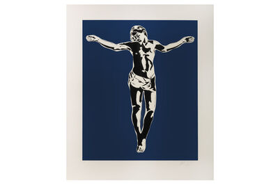 Blek le Rat, 'Jesus', 2008