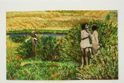 Betty Tompkins, 'Bushwhacked', 1996