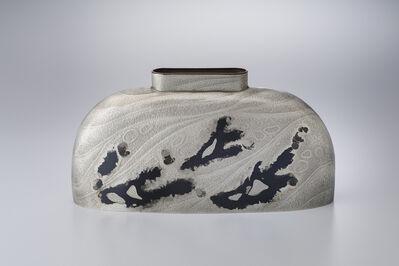 """Oshiyama Motoko, 'Kakuhanmon Vase """"Kiryu"""" (Flow)', 2019"""