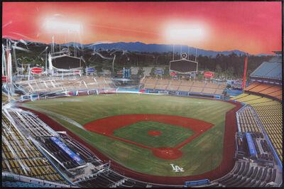 Pete Kasprzak, 'Almost Game Time - Dodger Stadium III', 2020