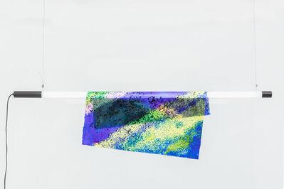 Kueng Caputo, 'Particle Wall Lamp - Blue Yellow Green', 2018