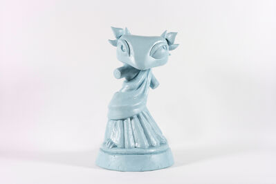 Bunny Rogers, 'Techo Statue (original blue)', 2019