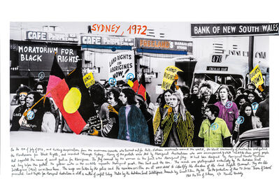 Marcelo Brodsky, 'From the series 1968: The fire of Ideas, Sydney, 1968', 2014-2019