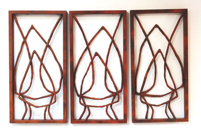 Loren Eiferman, 'Wood Diptych 165 pieces of wood: 'Remembrances of Things Past '', 2013