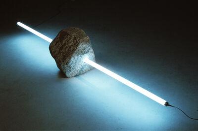 Tatsuo Kawaguchi, 'Stone and Light no.4', 1989