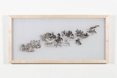 Nicholas Crombach, 'Persuit (Moving Left)', 2019