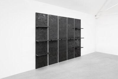 Ingrid Donat, 'Bibliotheque Murale en 5 Elements', 2008