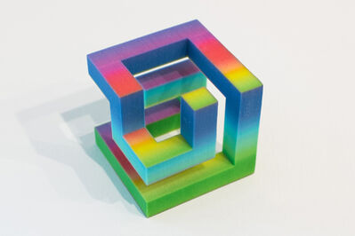 Brenna Murphy, 'Rainbow Cube', 2015