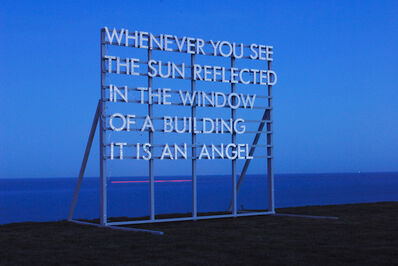 Robert Montgomery, 'Whenever You See The Sun', 2010