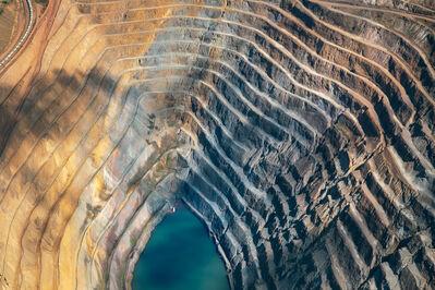 Júlia Pontés, 'Veias, Mineral Veins #3 aerial landscape color photograph', 2017